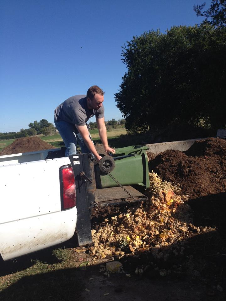 Compost Dumping